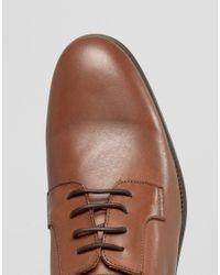 SELECTED Brown Oliver Derby Shoes for men