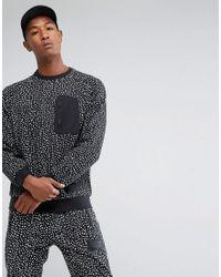 Adidas Originals Nmd Pocket Crew Neck Sweat In Black Bs2494 for men