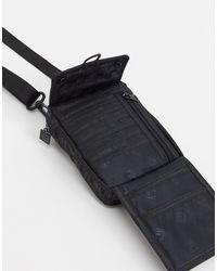 Черная Сумка С Логотипом-монограммой Neverton-черный Fila для него, цвет: Black