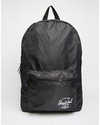 Herschel Supply Co. Packable Backpack In Black