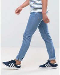 Weekday Blue Friday Skinny Fit Jeans Cash for men