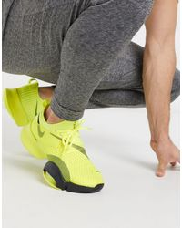 Nike Yellow Air Zoom Super Rep Sneakers for men