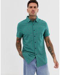Chemise coupe classique - à carreaux New Look pour homme en coloris Green