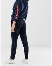 Pantaloni a righe di ONLY in Blue