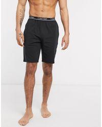 Черные Шорты Для Дома От Комплекта Ck One-черный Calvin Klein для него, цвет: Black