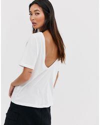 Dring - T-shirt corta di Noisy May in White
