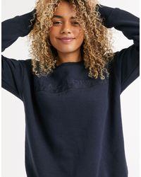 Napapijri Blue Berber Wom Sweatshirt