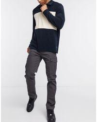 Intelligence - Pantalon cargo coupe classique Jack & Jones pour homme en coloris Gray