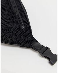 ASOS Black – Gürteltasche aus Netzstoff
