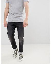 Levi's 511 – Jeans mit niedrigem Bund und schlanker Passform in Gray für Herren