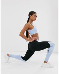 Adidas Training - Legging color block - et bleu Adidas Originals en coloris Black