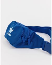 Синяя Сумка-кошелек На Пояс С Логотипом -синий Adidas Originals для него, цвет: Blue