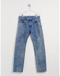 Reclaimed (vintage) Gray Jeans With Back Branding for men