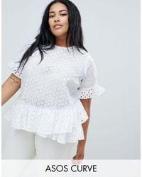ASOS DESIGN Curve - T-shirt di ASOS in White
