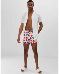 Short ASOS pour homme en coloris Multicolor