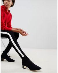 Stradivarius Black Side Stripe Legging