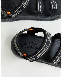Ellesse – Denso – e Sandalen in Black für Herren