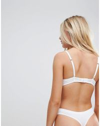 New Look - White T-shirt Bra - Lyst
