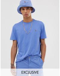 Polo Ralph Lauren – Übergroßes, hellblaues T-Shirt mit Polospieler-Logo – EXKLUSIV NUR BEI ASOS in Blue für Herren