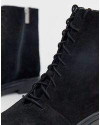 Aniseed - Stivaletti stringati di ASOS in Black