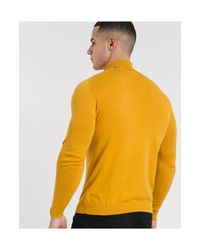 Jersey ASOS de hombre de color Yellow
