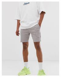 Pantaloncini skinny di ASOS in Gray da Uomo