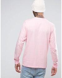 Carhartt WIP | Pink Pocket Long Sleeve T-shirt for Men | Lyst