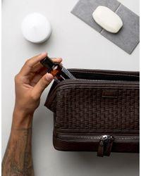Dune Brown Riley Wash Bag for men