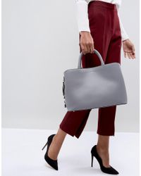 Fiorelli - Gray Bethnal Triple Compartment Tote In Grey - Lyst