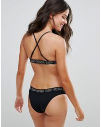 Rip Curl Black Rip Curl Surf Revival Cross Back Triangle Bikini Top