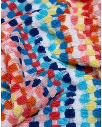 Seafolly Blue Rainbow Beach Towel