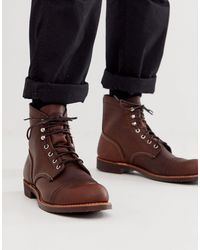Iron Ranger - Bottines à lacets en cuir - Ambre Red Wing pour homme en coloris Brown