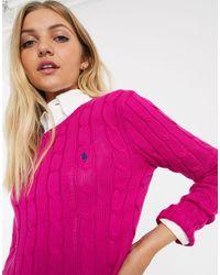 Jersey Polo Ralph Lauren de color Pink