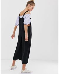 New Look Black Pocket Detail Jumpsuit