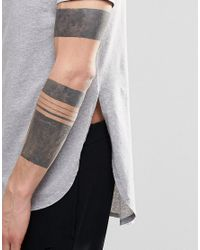 ASOS - Super Longline T-shirt With Side Splits And Curved Hem In Gray for Men - Lyst
