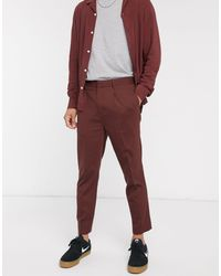 Pantalones ASOS de hombre de color Red