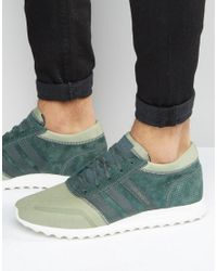 Adidas Originals | Los Angeles In Green S31528 for Men | Lyst