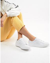 One Star Triple Leather - Sneakers bianche di Converse in White