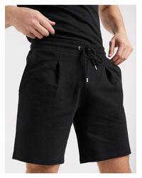 Pantalones cortos ASOS de hombre de color Black