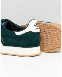 Adidas Originals Samoa Vintage Sneakers In Green By4131 for men