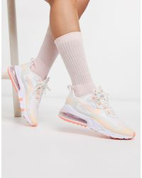Nike Pink Air Max 270 React Trainers