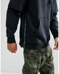 Adidas Originals Winter Pullover Hoodie In Black Bs2724 for men