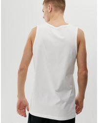 Nike - jumpan - Débardeur avec logo Nike pour homme en coloris White