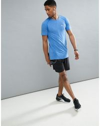 PUMA Running Evoknit T-shirt In Blue 59063208 for men