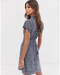 Medina - Robe à imprimé mosaïque French Connection en coloris Blue