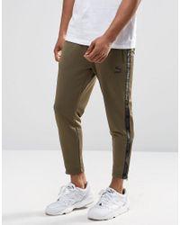 PUMA Green Urban Track Pants for men