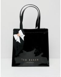 Ted Baker Black Large Bow Icon Bag