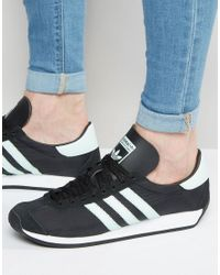 Adidas Originals Country Og Trainers In Black S32116 for men