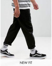 ASOS Black Skater Jeans for men