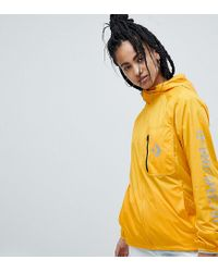 b92a631f729272 Lyst - Converse Lightweight Jacket In Yellow in Metallic